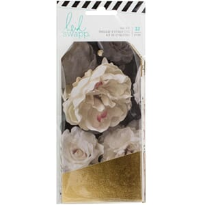 Heidi Swapp: Gold Magnolia Jane Foiled Tags, 32/Pkg