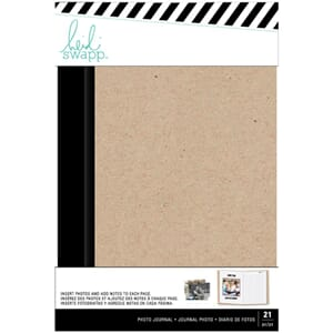 Heidi Swapp: Magnolia Jane Kraft Photo Journal, 8x5.33 in