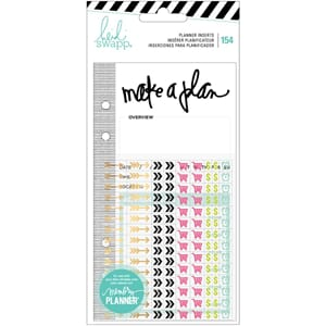Heidi Swapp: Events Memory Planner Inserts With Stickers