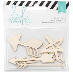 Heidi Swapp: Arrows - Wanderlust Wood Veneer Shapes 6/Pkg