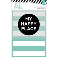 American Craft: My Happy Place - Wanderlust Stamp & Stencil