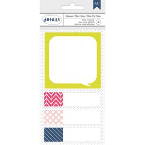 American Craft: Designer Desktop Essentials Sticky Note Pads