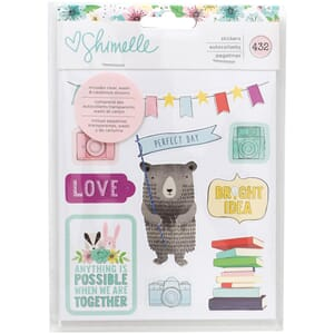 American Crafts: Shimelle Little By Little Stickers 8-Page B