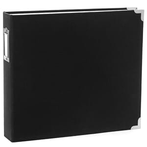 American Craft: Black - Cloth D-Ring album, 12x12 inch
