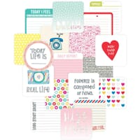 Project Life: High Five Die-Cut Card Pack 12/Pkg