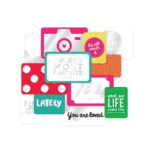 Project Life: Confetti Specialty Foil Card Pack 12/Pkg