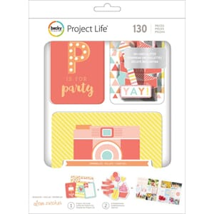 Project Life: Sprinkles Cards Value Kit 130/Pkg