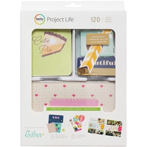 Project Life: Value Kits - Garden Party W/Gold Foil