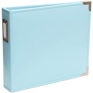Project Life: Baby Blue Classic Faux Leather D-Ring Album