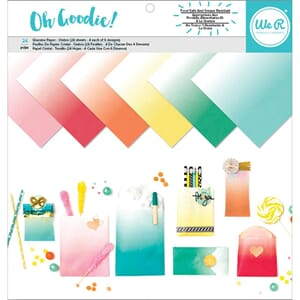 We R Memory Keepers: Oh Goodie! Ombre - Glassine Paper Pack