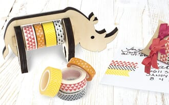 We R Memory Keepers: Rhino - Wooden Tape Dispenser