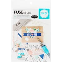 We R Memory Keepers: FUSEables Cards & Envelopes Kit 10/Pkg