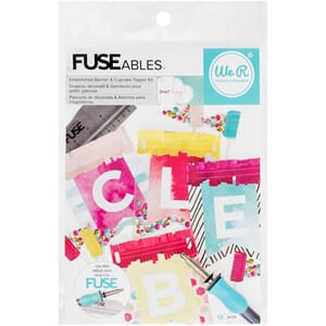 We R Memory Keepers: FUSEables Banner & Cupcake Topper Kit