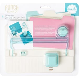 We R Memory Keepers: Tab Punch Board