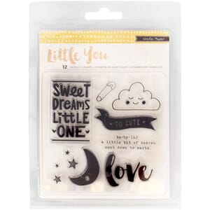 Crate Paper: Little You Clear Acrylic Stamps