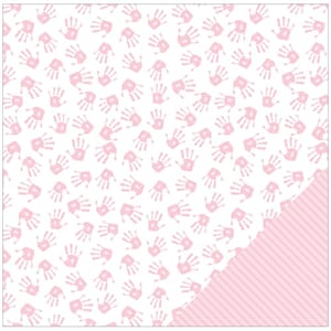 American Crafts: Girl Hands - Baby