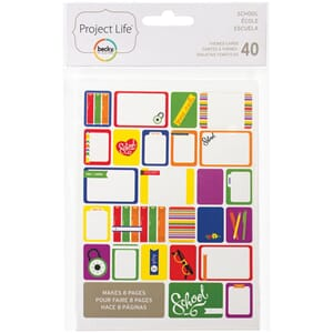 Project Life: School - Themed Cards