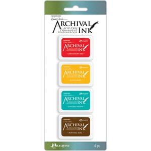 Ranger: Kit 1 - Wendy Vecchi Archival Mini Ink Pad Kits