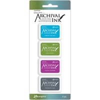 Ranger: Kit 2 - Wendy Vecchi Archival Mini Ink Pad Kits