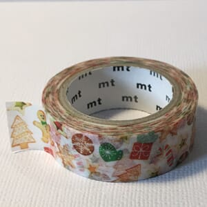Christmas Cookies - Washi tape, 1/Pkg