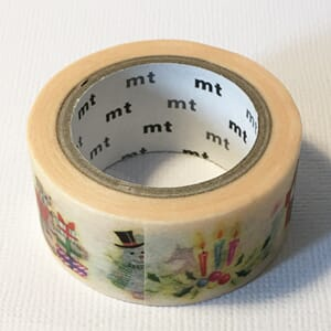 Christmas Animals - Washi tape, 1/Pkg