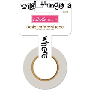 Bella Blvd: Wild Things - The Zoo Crew Washi Tape
