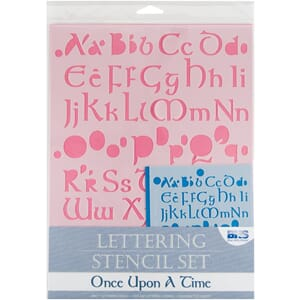 BHS: Once Upon A Time - Lettering Stencil