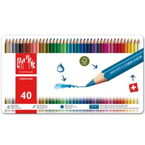 Caran d'ache: Fancolor Colour Pens, 40/Pkg