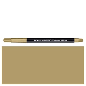 Caran d'ache: Fancolor Metallic Gold Colour Pens, 1/Pkg