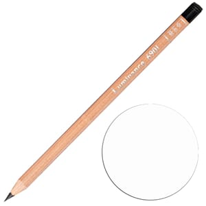 Caran d'Ache: White - Luminance Single Pencil, 1/Pkg