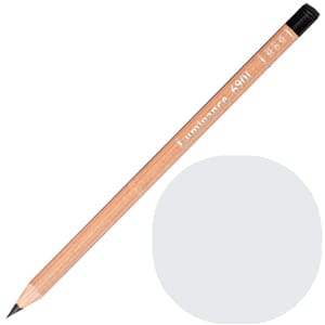 Caran d'Ache: Silver grey - Luminance Single Pencil, 1/Pkg
