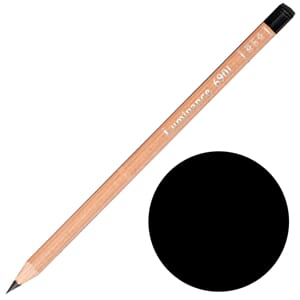 Caran d'Ache: Black - Luminance Single Pencil, 1/Pkg