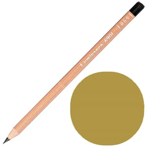 Caran d'Ache: Green ochre - Luminance Single Pencil, 1/Pkg
