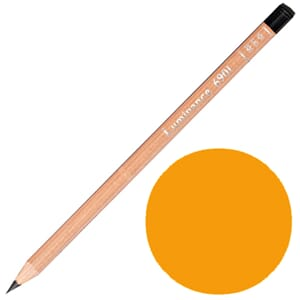 Caran d'Ache: Orange - Luminance Single Pencil, 1/Pkg