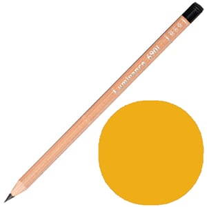 Caran d'Ache: Yellow ochre - Luminance Single Pencil, 1/Pkg