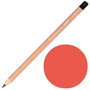 Caran d'Ache: Permanent red - Luminance Single Pencil, 1/Pkg