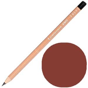 Caran d'Ache: Burnt Sienna - Luminance Single Pencil, 1/Pkg
