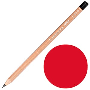 Caran d'Ache: Scarlet - Luminance Single Pencil, 1/Pkg