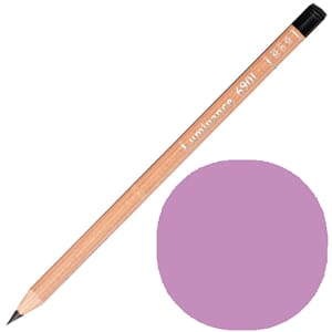 Caran d'Ache: Ultramarine pink - Luminance Single Pencil, 1/