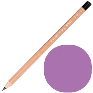 Caran d'Ache: Manganese violet - Luminance Single Pencil, 1/