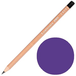 Caran d'Ache: Violet - Luminance Single Pencil, 1/Pkg
