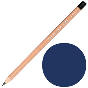 Caran d'Ache: Prussian blue - Luminance Single Pencil, 1/Pkg
