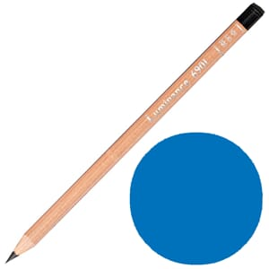 Caran d'Ache: Phthalocyanine blue - Luminance Single Pencil,