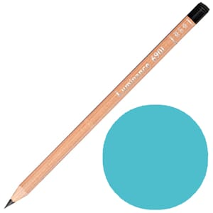 Caran d'Ache: Turquoise blue - Luminance Single Pencil, 1/Pk