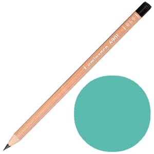 Caran d'Ache: Light malacite green - Luminance Single Pencil