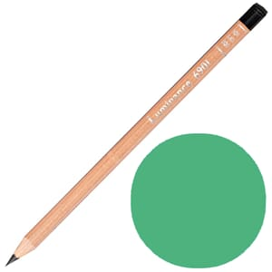 Caran d'Ache: Cobalt green  - Luminance Single Pencil, 1/Pkg