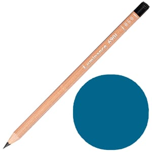 Caran d'Ache: Ice blue - Luminance Single Pencil, 1/Pkg