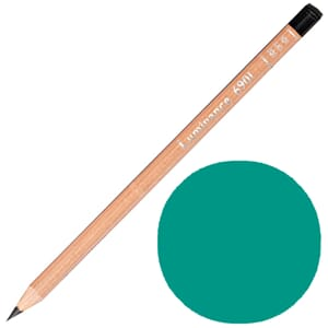 Caran d'Ache: Beryl green  - Luminance Single Pencil, 1/Pkg