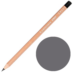 Caran d'Ache: Slate grey - Luminance Single Pencil, 1/Pkg
