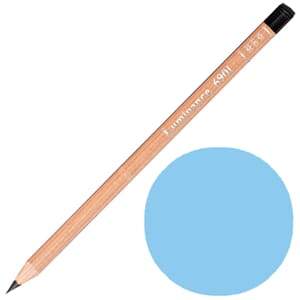 Caran d'Ache: Light cobalt blue - Luminance Single Pencil, 1